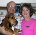 Jim, Kathy and Boomer